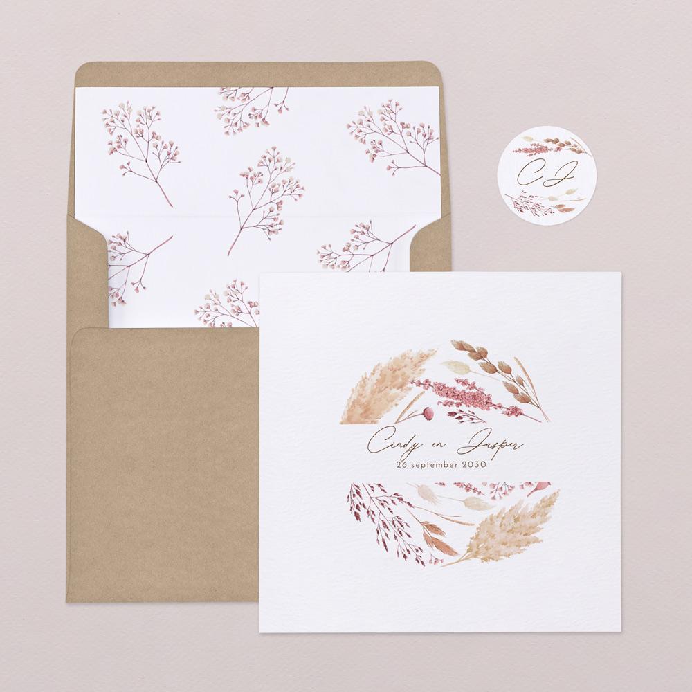 Ambrosia trouwkaart Origineel